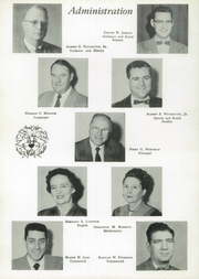 Page 10, 1956 Edition, Crosby High School - Keystone Yearbook (Belfast, ME) online yearbook collection