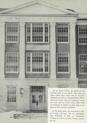 Page 5, 1956 Edition, Crosby High School - Keystone Yearbook (Belfast, ME) online yearbook collection