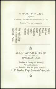 Page 10, 1924 Edition, Rangeley High School - Tattler Yearbook (Rangeley, ME) online yearbook collection