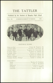Page 13, 1924 Edition, Rangeley High School - Tattler Yearbook (Rangeley, ME) online yearbook collection