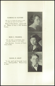 Page 17, 1924 Edition, Rangeley High School - Tattler Yearbook (Rangeley, ME) online yearbook collection