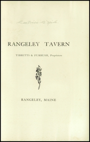 Page 3, 1924 Edition, Rangeley High School - Tattler Yearbook (Rangeley, ME) online yearbook collection