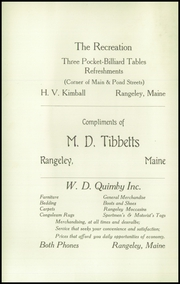 Page 4, 1924 Edition, Rangeley High School - Tattler Yearbook (Rangeley, ME) online yearbook collection
