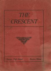 1912 Edition, Buxton High School - Crescent Yearbook (Buxton, ME)