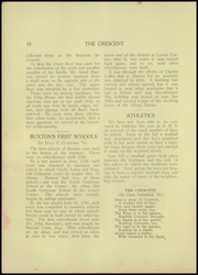 Page 12, 1912 Edition, Buxton High School - Crescent Yearbook (Buxton, ME) online yearbook collection