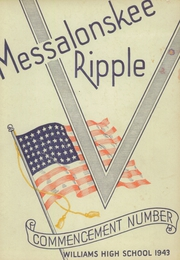 Page 1, 1943 Edition, Williams High School - Messalonskee Ripple Yearbook (Oakland, ME) online yearbook collection