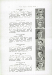 Page 12, 1943 Edition, Williams High School - Messalonskee Ripple Yearbook (Oakland, ME) online yearbook collection