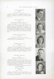 Page 14, 1943 Edition, Williams High School - Messalonskee Ripple Yearbook (Oakland, ME) online yearbook collection