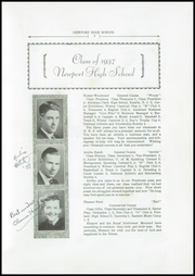 Page 9, 1937 Edition, Newport High School - Live Wire Yearbook (Newport, ME) online yearbook collection