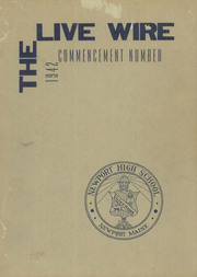 Page 1, 1942 Edition, Newport High School - Live Wire Yearbook (Newport, ME) online yearbook collection