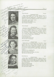 Page 14, 1942 Edition, Newport High School - Live Wire Yearbook (Newport, ME) online yearbook collection