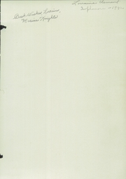 Page 3, 1942 Edition, Newport High School - Live Wire Yearbook (Newport, ME) online yearbook collection
