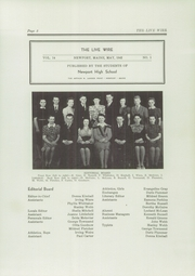 Page 7, 1942 Edition, Newport High School - Live Wire Yearbook (Newport, ME) online yearbook collection