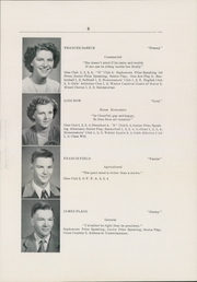 Page 11, 1950 Edition, Newport High School - Live Wire Yearbook (Newport, ME) online yearbook collection