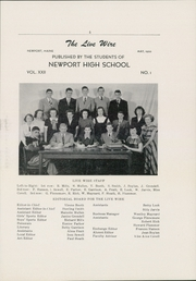 Page 7, 1950 Edition, Newport High School - Live Wire Yearbook (Newport, ME) online yearbook collection