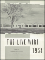 Page 7, 1954 Edition, Newport High School - Live Wire Yearbook (Newport, ME) online yearbook collection