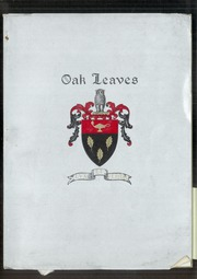 1943 Edition, Oak Grove Coburn High School - Oak Leaves Yearbook (Vassalboro, ME)
