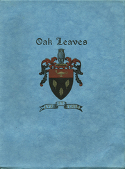 Page 1, 1945 Edition, Oak Grove Coburn High School - Oak Leaves Yearbook (Vassalboro, ME) online yearbook collection