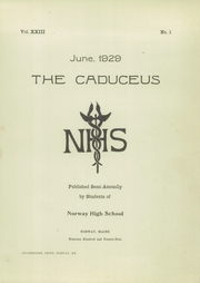 Page 3, 1929 Edition, Norway High School - Caduceus Yearbook (Norway, ME) online yearbook collection
