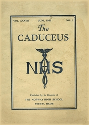 Page 1, 1943 Edition, Norway High School - Caduceus Yearbook (Norway, ME) online yearbook collection