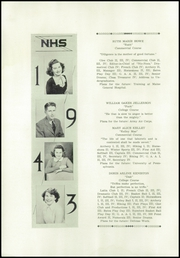 Page 14, 1943 Edition, Norway High School - Caduceus Yearbook (Norway, ME) online yearbook collection