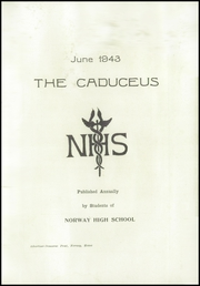 Page 3, 1943 Edition, Norway High School - Caduceus Yearbook (Norway, ME) online yearbook collection