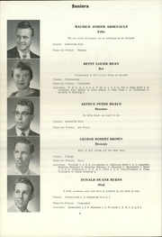 Page 10, 1958 Edition, Norway High School - Caduceus Yearbook (Norway, ME) online yearbook collection