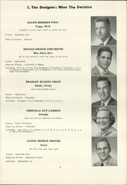 Page 13, 1958 Edition, Norway High School - Caduceus Yearbook (Norway, ME) online yearbook collection