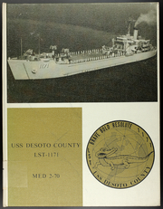 1970 Edition, De Soto County (LST 1171) - Naval Cruise Book