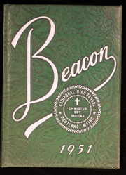 1951 Edition, Cathedral High School - Beacon Yearbook (Portland, ME)