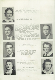 Page 10, 1942 Edition, Ricker Classical Institute - Aquilo Yearbook (Houlton, ME) online yearbook collection
