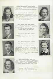 Page 14, 1942 Edition, Ricker Classical Institute - Aquilo Yearbook (Houlton, ME) online yearbook collection