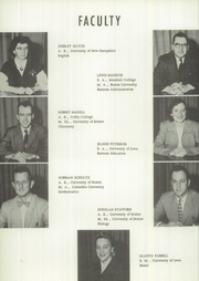 Page 14, 1955 Edition, Ricker Classical Institute - Aquilo Yearbook (Houlton, ME) online yearbook collection