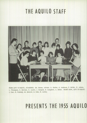 Page 6, 1955 Edition, Ricker Classical Institute - Aquilo Yearbook (Houlton, ME) online yearbook collection