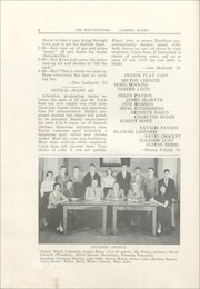 Page 10, 1951 Edition, Camden High School - Megunticook Yearbook (Camden, ME) online yearbook collection
