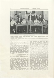 Page 4, 1951 Edition, Camden High School - Megunticook Yearbook (Camden, ME) online yearbook collection