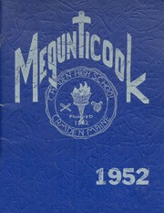 1952 Edition, Camden High School - Megunticook Yearbook (Camden, ME)