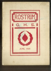 1925 Edition, Guilford High School - Rostrum Yearbook (Guilford, ME)