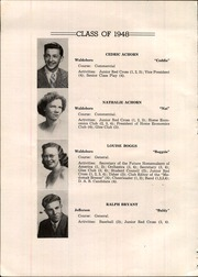 Page 10, 1948 Edition, Waldoboro High School - Medomak Breeze Yearbook (Waldoboro, ME) online yearbook collection