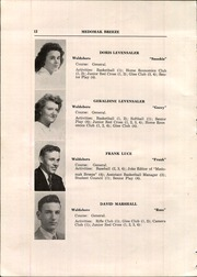 Page 14, 1948 Edition, Waldoboro High School - Medomak Breeze Yearbook (Waldoboro, ME) online yearbook collection