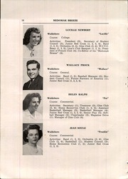 Page 16, 1948 Edition, Waldoboro High School - Medomak Breeze Yearbook (Waldoboro, ME) online yearbook collection