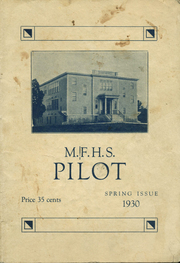 1930 Edition, Mechanic Falls High School - Pilot Yearbook (Mechanic Falls, ME)