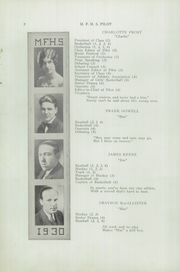 Page 10, 1930 Edition, Mechanic Falls High School - Pilot Yearbook (Mechanic Falls, ME) online yearbook collection