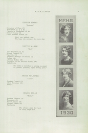 Page 11, 1930 Edition, Mechanic Falls High School - Pilot Yearbook (Mechanic Falls, ME) online yearbook collection