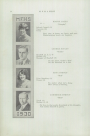 Page 12, 1930 Edition, Mechanic Falls High School - Pilot Yearbook (Mechanic Falls, ME) online yearbook collection