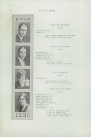 Page 14, 1930 Edition, Mechanic Falls High School - Pilot Yearbook (Mechanic Falls, ME) online yearbook collection