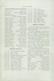 Page 16, 1930 Edition, Mechanic Falls High School - Pilot Yearbook (Mechanic Falls, ME) online yearbook collection