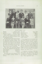 Page 17, 1930 Edition, Mechanic Falls High School - Pilot Yearbook (Mechanic Falls, ME) online yearbook collection