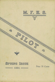 1931 Edition, Mechanic Falls High School - Pilot Yearbook (Mechanic Falls, ME)