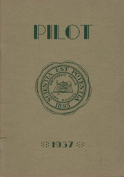 1937 Edition, Mechanic Falls High School - Pilot Yearbook (Mechanic Falls, ME)